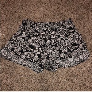 Floaty Floral Shorts